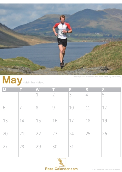 Racing Calendar May : Interview with ricky lightfoot face of the running