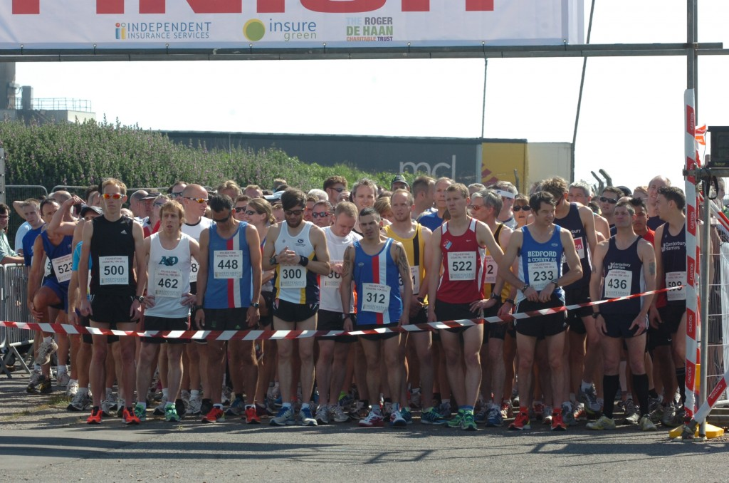 The start of the Folkestone Coastal 10k