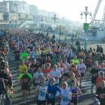 Brighton Half Marathon 2013 crowds