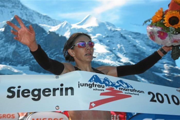 Simona Staicu wins the Jungfrau Marathon in 2010