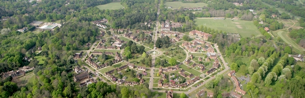 Whiteley Village, Surrey, UK