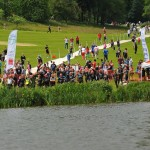 Briefing at the Bowood Triathlon