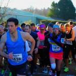 The Mad Dash, Warwickshire, 10K Race Start. 8th February 2014.