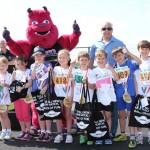 Mini run winners