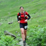Catherine Litherland at the Clif Bar 10 Peaks 2014