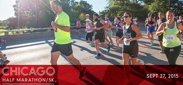 Chicago Half Marathin running Event